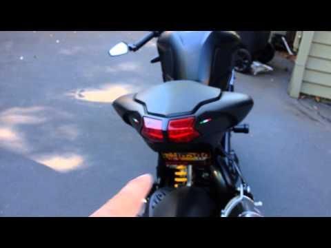 Ducati Streetfighter 848 modifications