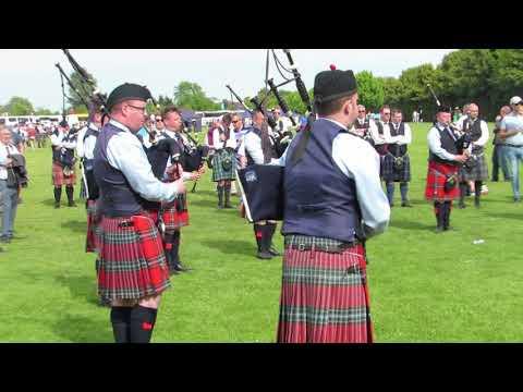 Field Marshal Montgomery Pipe Band @ British Championships 2018
