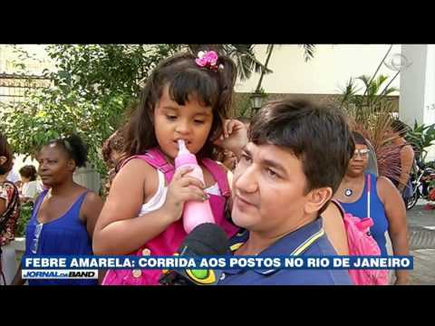 RJ: Aumenta a procura pela vacina contra febre amarela