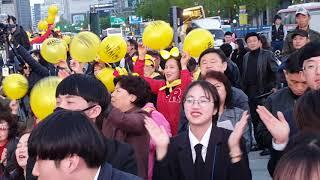 광화문 광장에서 👍장구의신 가수 박서진님 👍인기폭발  최고 최고 👍👍👍