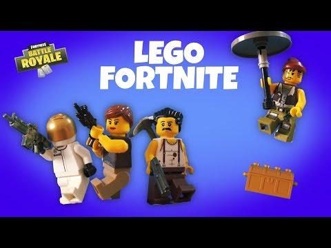 LEGO Fortnite Battle Royale (Stop-Motion)