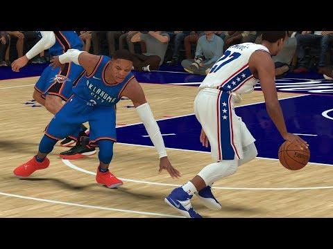 NBA 2K19 My Career EP 52 - Russell Westbrook 1st Meeting!