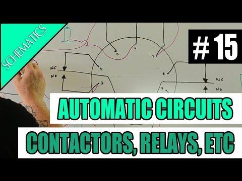 Episode 15 - SCHEMATICS - Automatic Circuits (Contactors, Relays, Photocells, & Timeclocks