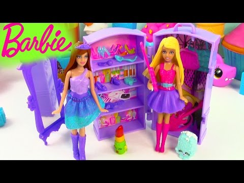 Thumbnail: Barbie Doll The Princess and The Popstar Mini Playset Guitar Band Wardrobe Review