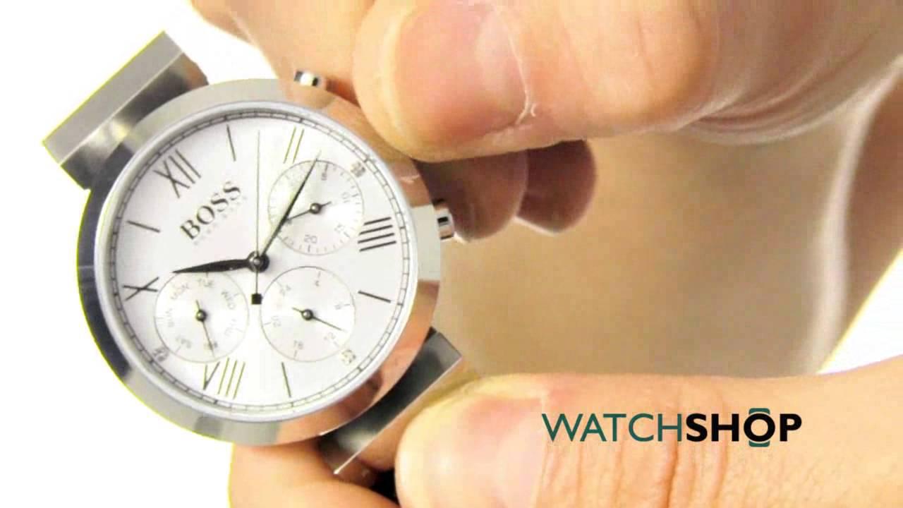4664d5de7352 Hugo Boss Ladies  Classic Sport Watch (1502395) - YouTube
