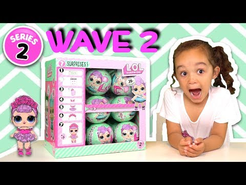 BRAND NEW SERIES 2 WAVE 2 LOL SURPRISE DOLLS OPENING WITH A LOL SURPRISE GIVEAWAY