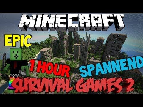 Minecraft - The Hunger Games 2 - Erneuter Kampf ums Überleben! - 동영상