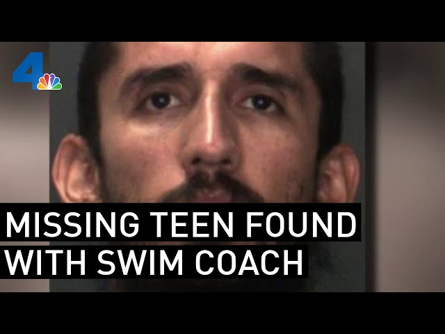 Swim Coach Accused of Hiding 16-Year-Old Missing for Two Weeks   NBCLA