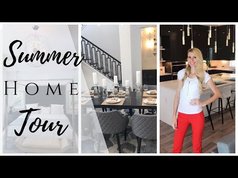 SUMMER HOME TOUR | PARADE OF HOMES TOUR 2019 CUSTOM HOME | 2019 NEW HOME TRENDS & DECOR thumbnail