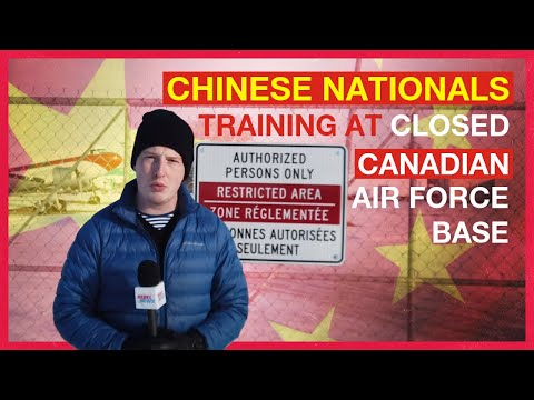 Chinese pilots training at former Canadian military base in Alberta