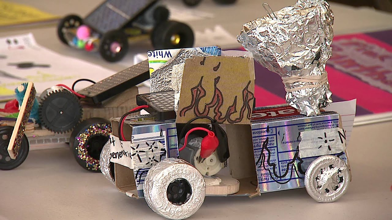 kids design solar cars to learn science