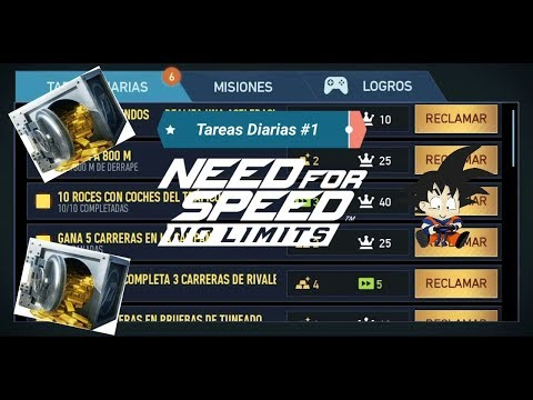 Need For Speed No Limits Android Info Update Como Obtener Oro / Tareas Diarias #1