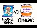 Brand Name vs. Generic - science Tv