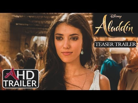 Aladdin(2019) - TEASER TRAILER #2 - Mena Massoud, Naomi Scott Film  (CONCEPT)