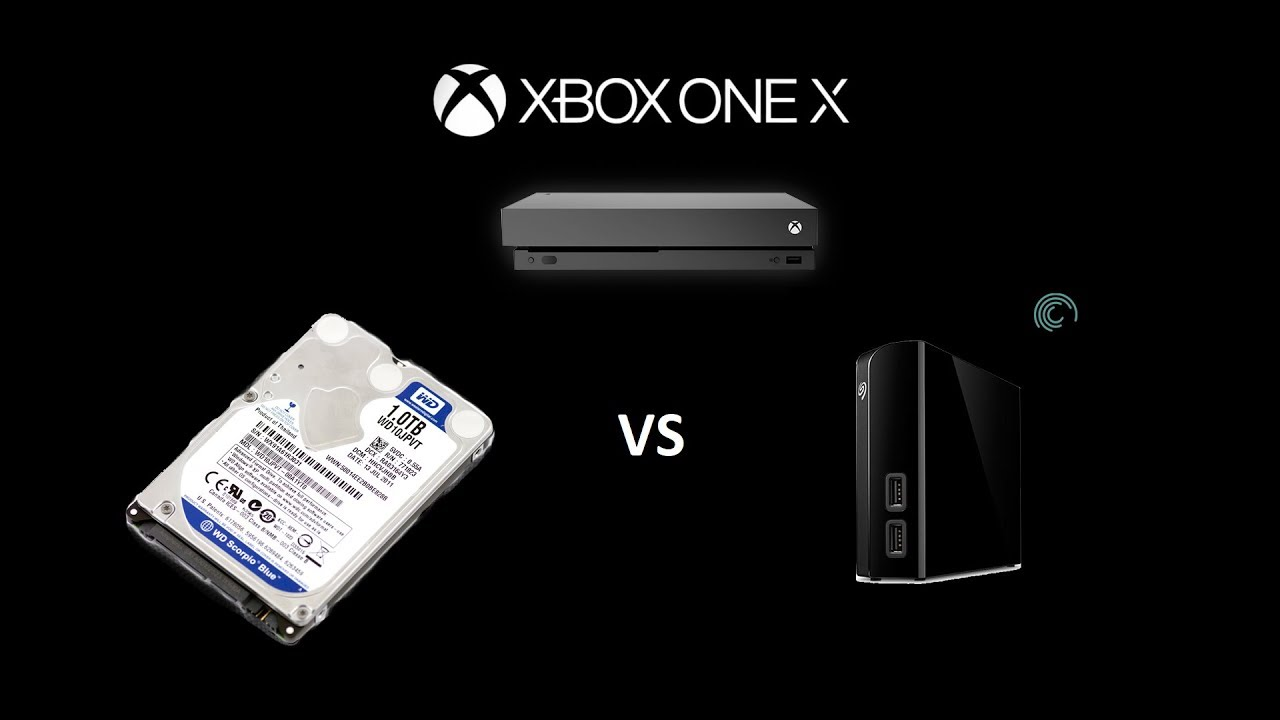 can you use any hard drive for xbox one