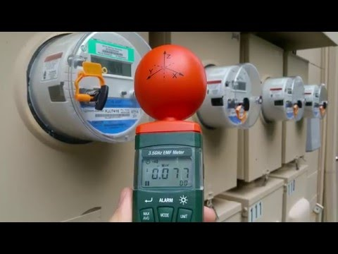 EMF RF microwave radiation test results from our WiFi and smart meter