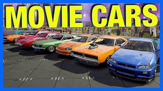 Forza Horizon 3 Online : World's Fastest Movie Cars!!! (Powered By @ElgatoGaming, Race 2)