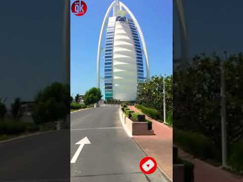 DUBAI | BURJ AL ARAB 2021| ONE & ONLY 7 STAR HOTEL (SUBSCRIBE) #Shorts