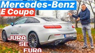 Mercedes-Benz E Coupe - Jura se fura