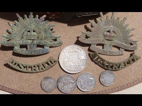 "WW2 Relic Hunt: Australian Army Hospital Site: ""The Rising Suns""."