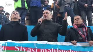 19 yanvar mitinqi: İlqar Məmmədov çıxış edir (Videonu bəyən, çox insan baxa bilsin)