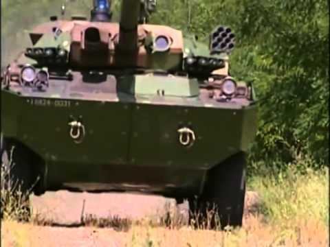 Wheeled Armored Fighting Vehicles (1 of 3)