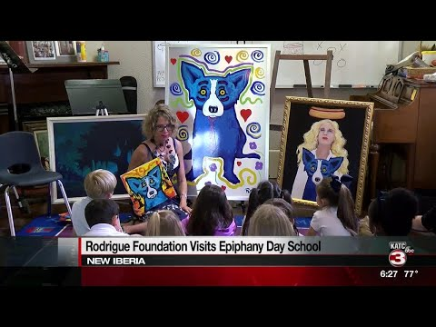 Rodrigue Foundation tour comes to New Iberia
