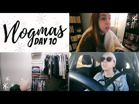 finally done with unpacking, getting back into a workout routine, freelancing // vlogmas day 10
