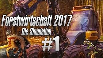 Forstwirtschaft 2017 #001 - Beginn mit einem Pferd! Let's Play Forestry 2017 deutsch