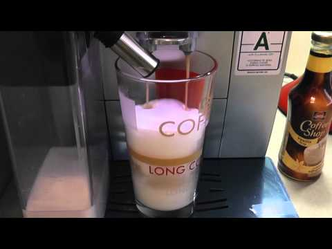 DeLONGHI ECAM 23.460 S Latte macchiato and Cleaning