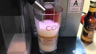 DeLONGHI ECAM 23.460 S Latte macchiato and Cleaning