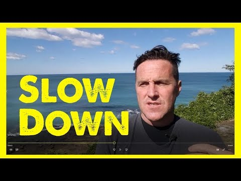 How to Slow Down + Live Simply | Life Coach Bren Murphy
