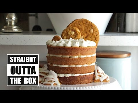 How to Make a Show-Stopping Pumpkin Cake From a Box | Become a Baking Rockstar