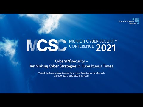 Munich Cyber Security Conference (MCSC) 2021 - Day 2