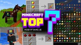 Minecraft - TOP 7 MODÓW 1.16.4 (NAJLEPSZE MODY)