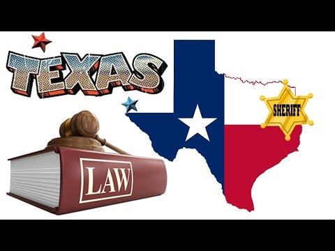Top 5 Strange Texas Laws