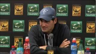 Roger Federer interview after Kohlschreiber match