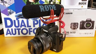 canon m100 vlogging camera