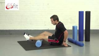 Myofascial Release & Leg Massage Exercises using the 66fit Foam Roller - Part 1