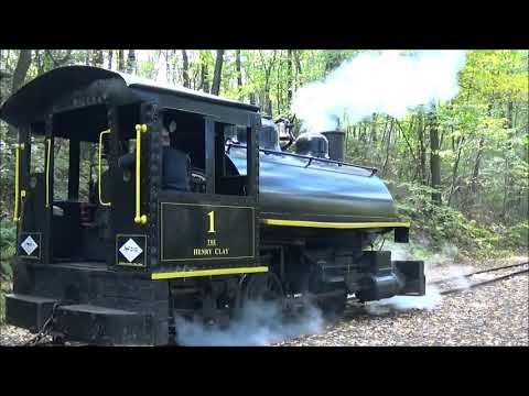 Pioneer Tunnel Coal Mine And Steam Train Henry Clay No 1