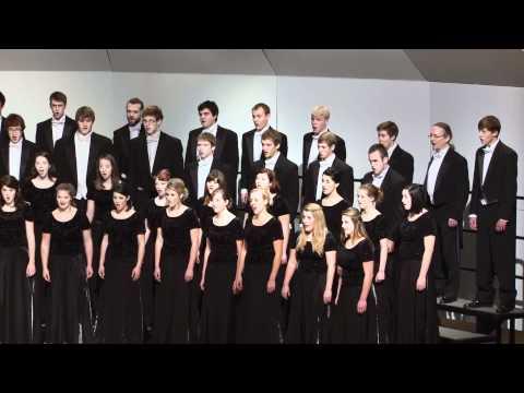 UWEau Claire Concert Choir  Adoramus Te, Christe Eric Barnum
