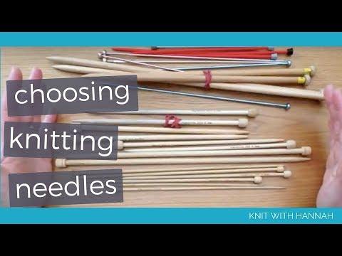 Beginner's Guide To Choosing Knitting Needles