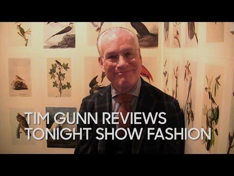 Tim Gunn Reviews Tonight Show Fashion