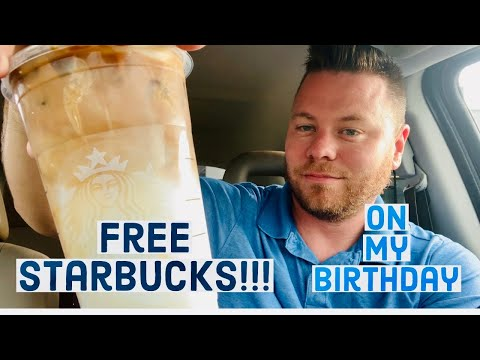How To Get Free Starbucks Drinks On My Birthday!!