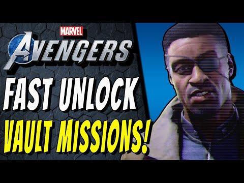 SECRET VAULT MISSIONS FAST UNLOCK! Marvel's Avengers All Vault Keys Locations Guide