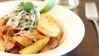 Camarones Salteados Or Peruvian Sautéed Shrimp By Alejandra Schrader - Master Chef Finalist