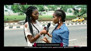What will you do if your partner has oesophagus?  DelarueTV | Street'ish