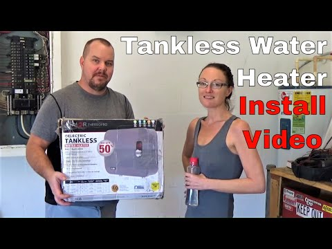 Install Electric Tankless Water Heater    Review Atmor Thermopro