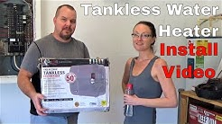 Install Electric Tankless Water Heater || Review Atmor Thermopro