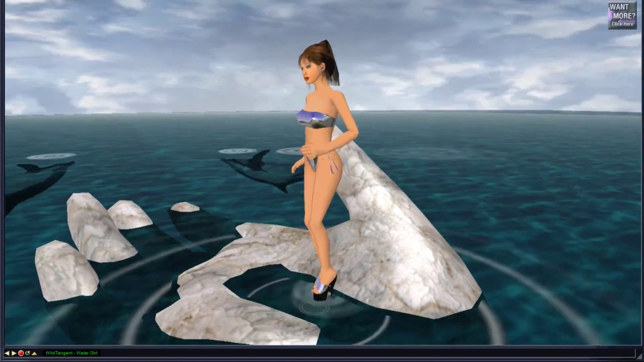 Winamp visualization plugin nude dancer